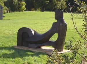 Garden Sculpture 'In Repose'