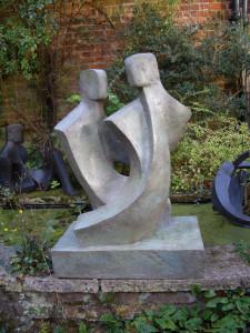 Duo lll, Garden Sculpture