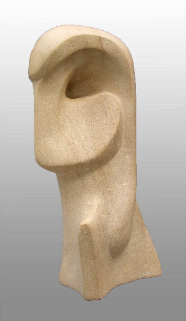 Interior sculpture Head