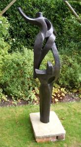 Pas de deux , Garden Sculpture