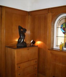 Sculpture in situ