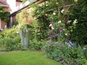 Garden Sculpture Exhibition at Pashley Manor