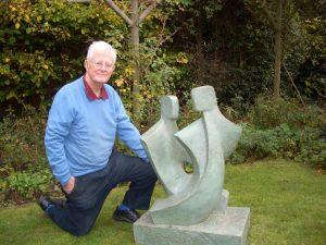 Garden Sculpture by John Brown